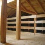 小屋裏収納の施工例