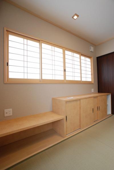倉敷市・ペットと暮らす家の和室