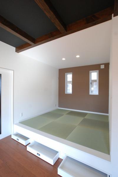 4畳半の畳コーナー