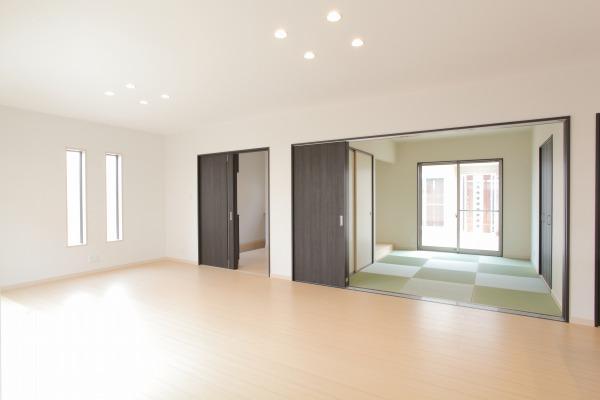 岡山県倉敷市の新築4LDKの家・和室