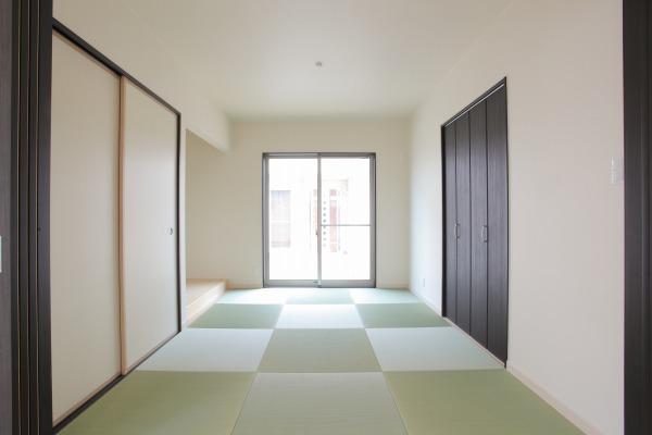 岡山県倉敷市の新築4LDKの家・畳の部屋
