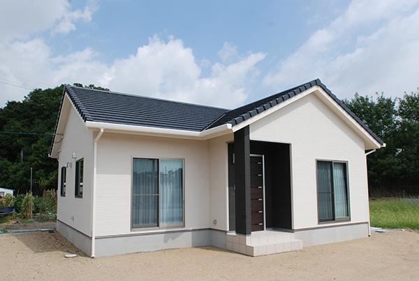 倉敷市 平屋建ての家 外観