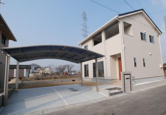 岡山市 共用スペースから個室にできる子供部屋 子供の成長と共に変化する家 4LDK 岡山市北区の家