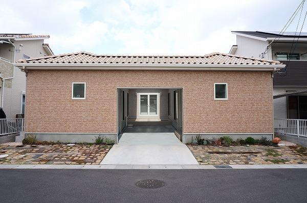 倉敷市 中庭のある「コの字型」平屋の家