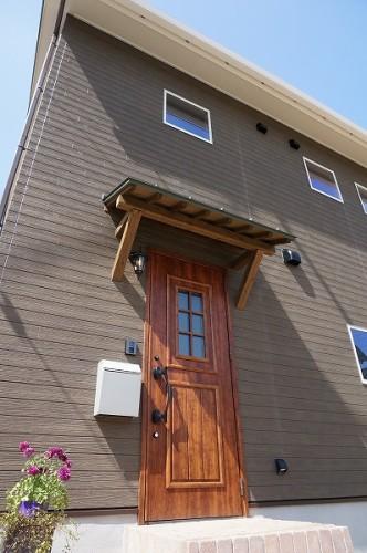 倉敷市の小さな可愛い3LDKの家・外観