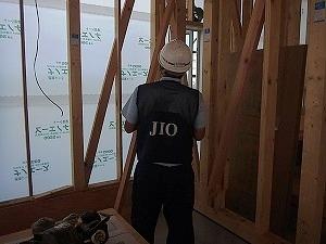 倉敷市中庄の家(店舗併用住宅) 検査機関JIOの躯体・防水検査