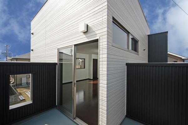 モノトーンを基調にした空間 スタイリッシュな家