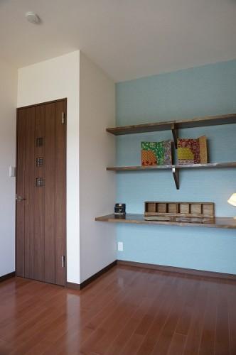 岡山市 自然の素材を使った平屋の家・寝室
