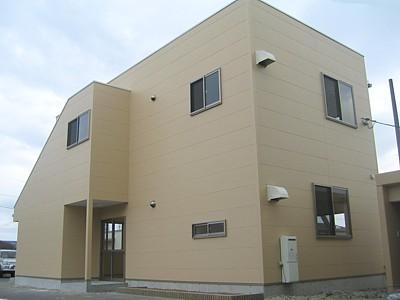 倉敷市 木造2階建て社屋 竣工