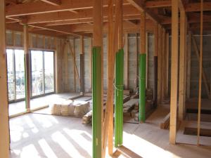 吉備中央町 平屋建の家 内部造作工事