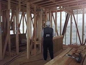 岡山市南区藤田の家 JIOによる防水検査・躯体検査
