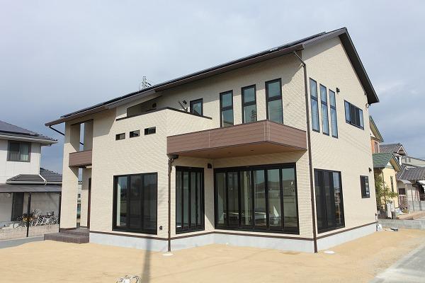 倉敷市 鉄骨造の家 大空間の邸宅 完成!お引渡し