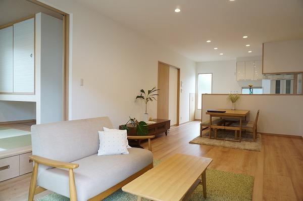 倉敷市児島 ナチュラルに暮らしやすい家 内装とインテリア